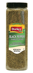 Ach Food Durkee Black Regular Ground Pepper 18 oz.