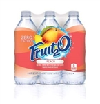 Fruit 2o Beverage Peach - 96 Oz.