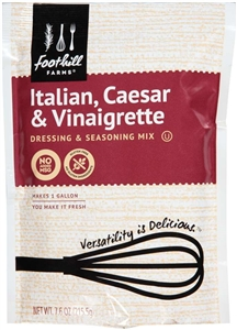 Precision Foods Foothill Farms Italian Oil and Vinegar Mix 7.6 Oz.