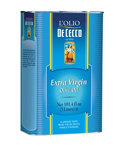 De Cecco Enriched Macaroni Extra Virgin Olive Oil - 101.4 Fl. Oz.