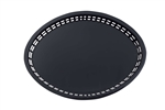 Tablecraft Oval Platter Taxes Basket Black