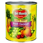 Del Monte Fruit Cocktail Naturals Packed In Pear Juice - 105 Oz.
