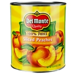 Sliced Yellow Cling Peaches In Pear Juice - 105 oz.