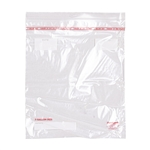 Low Density Disposable Reclosable Zipper Bags - 13 in. x 15.5 in.