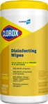 Disinfectant Commercial Solutions Wipes Lemon Scent