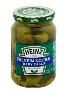 Heinz Kosher Dill Baby Pickle - 16 Oz.