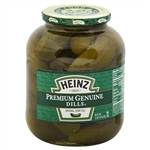Heinz Relish and Vinegar Dill Pickles - 46 fl. Oz.