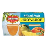 Delmonte Mixed Fruit Cup In Lightly Sweetened Juice And Water - 4 Oz.