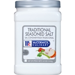 McCormick Traditional No Msg 4.5 Pound Seasoned Salt