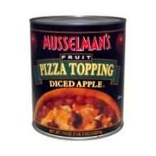 Knouse Foods Musselmans Diced Apple Pizza Topping - 114 Oz.