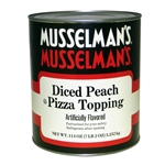 Musselmans Diced Peach Pizza Topping - 114 Oz.