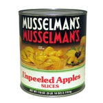 Musselmans Apples Unpeeled Sliced - 110 Oz.