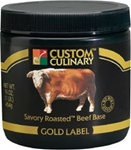 Custom Culinary Savory Rosted Beef Base No Msg Added - 20 Lb.