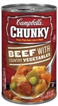 Chunky Beef With Vegetable Soup - 18.8 Oz.
