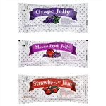 Strawberry Mixed Fruit Grape Jelly - 0.5 oz.