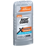 Right Guard Xtreme Defense 5 Invis Solid Arctic Refresh Bonus - 2.6 Oz.