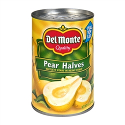 Pear Halves In Syrup Canned - 8.5 oz.