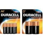 Procter and Gamble Duracell Coppertop 4 Pack AAA Size Battery