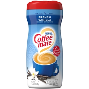 Creamer Coffee-Mate Powder French Vanilla - 15 Oz.