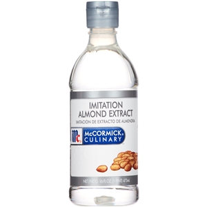 McCormick Imitation Plastic 1 Pint Almond Extract