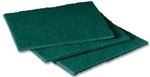General Purpose Scouring Pad Green - 4.5 in. x 6 in.
