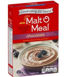Malt-O-Meal Chocolate Hot Wheat Cereal 28 oz.
