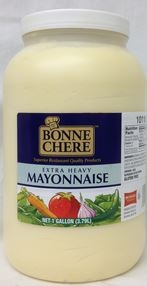 Superior Bonne Chere Extra Heavy Mayonnaise - 1 Gal.