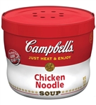 Campbell's Chicken and Noodles Bowl Soup Red and White 15.4 Oz.