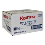 Krusteaz Fish and Chip Style Batter Mix - 25 Lb.