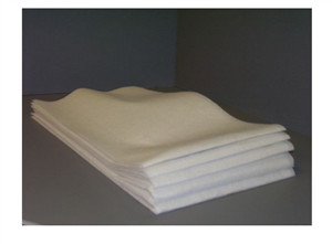 Atlantic Mills Kerri Klean White 13.5 in. x 24 in. Heavy Duty Towel
