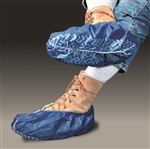 Cellucap Polypropylene Nonskid Shoestring Cover Blue