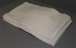 Atlantic Mills White Medium Duty Towel 13.5 in. x 21 in.