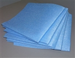 Atlantic Mills Blue Medium Duty Towel 13.5 in. x 21 in.