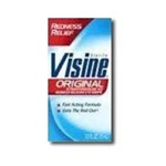 Johnson and Johnson Visine Original Formula Eye Drops Bottle - 0.5 Oz.