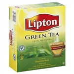 Unilever Best Foods Lipton 100 Percent Natural Green Tea