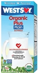 Hain Celestial Organic Plus Plain Soy Milk - 32 Oz.
