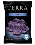 Hain Celestial Terra Spiced Sweet Blue Potato Chips - 1 Oz.