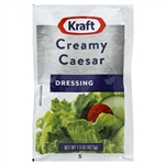 Kraft Creamy Caesar Dressing Portion Control - 1.5 Oz. Packet