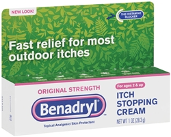 Benadryl Topical Original Cream - 1 Oz.