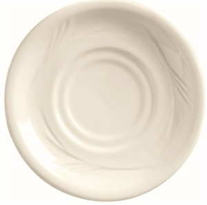 World Tableware Endurance Undecorated Saucer - 5 in.