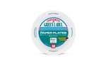 AJM White Green Label 9 in. Paper Plate