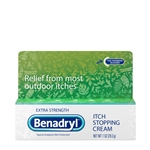Benadryl Topical Extra Strength Cream - 1 Oz.