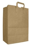 AJM Natural Kraft EZ Tote Handle Sacks 70 lb.
