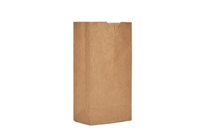 AJM Natural Kraft 4 lb. Grocery Paper Bag
