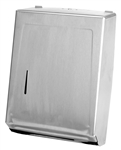 Continental Chrome Combo Towel Cabinet