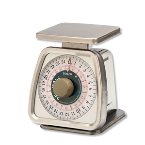 Taylor Rotating Dial Scale - 25 Lb.