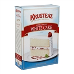 Krusteaz Professional Extra Moist White Cake Mix - 4.5 Lb.