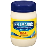 Unilever Best Foods Hellmanns Packed In Plastic Mayonnaise - 15 oz.