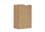 AJM Natural Kraft One Sixth BBL 75 lb. Grocery Bags