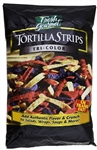 Sugar Foods Fresh Gourmet Tri-Color Tortilla Strips Salad Topping 1 Lb.